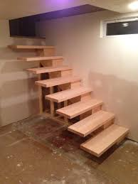 floating stairs stairs and how to build on pinterest build floating