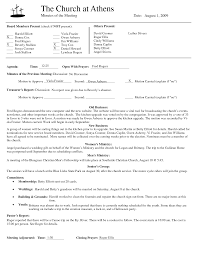 board meeting minutes template non profit of sample word it