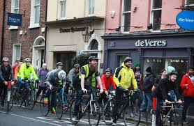 Three out of every four people that <b>cycle</b> every day in Ireland are <b>men</b>