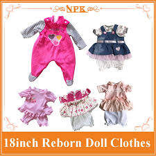 15 Latest Styles 18Inch <b>45cm Reborn</b> Baby Doll Clothes With ...