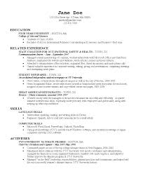 what does a college resume look like sample resume  what s a resume look like