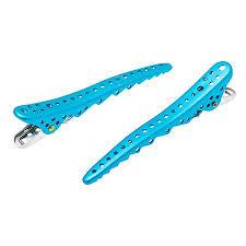 <b>Зажимы для</b> волос <b>Y.S. Park</b> Shark Clip 106 мм голубые 2 шт YS ...
