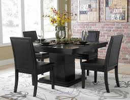 Tall Dining Room Table And Chairs Black Dining Room Sets At Come Alps Home Ideas