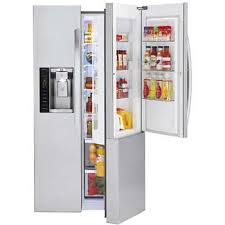LG 26CuFt Side-by-Side <b>Ultra Large Capacity</b> with Door-in-Door ...