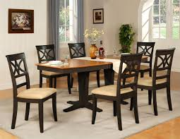 Colored Dining Room Sets Black And Brown Dining Room Sets