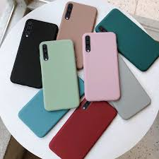 Matte <b>Candy Color Silicone TPU</b> Cases For Samsung Galaxy A10 ...