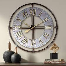 Oversized Clocks - Extra <b>Large Wall Clock</b> Designs | Lamps Plus