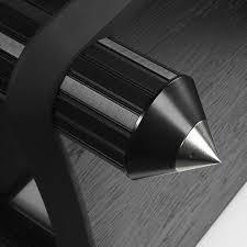 hi fi стойка cold ray дополнительная полка level 180 black ash black tube