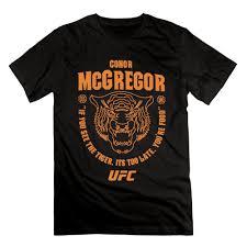 Fashion <b>Conor Mcgregor</b> Ufc 202 Tiger Food Mens Fashion <b>Printing</b> ...