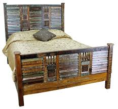 rustic bedroom furniture light