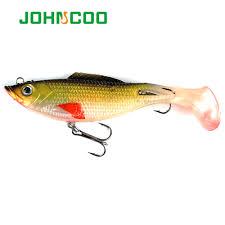JOHNCOO 1pc Soft Lead Fish Lure with Sharp Hooks Silicone Bait ...