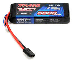 <b>Аккумулятор Traxxas</b> Power Cell 2S LiPo <b>Battery</b> 7.4V 5800mAh ...