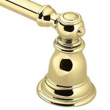 Polished <b>Brass</b> - <b>Towel</b> Bars - <b>Bathroom</b> Hardware - The Home Depot