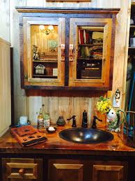 country themed reclaimed wood bathroom storage:    ojpg vanities for the rustic bathroom