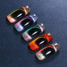 <b>BORN PRETTY 1 Bottle</b> Holographic Chameleon Nail Gel Magnetic ...