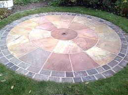 patio slab sets: patio middot paving circle  patio middot paving circle