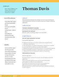 teacher professional resume format resume format  teacher resume format template