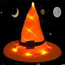 orange witch <b>hat</b>