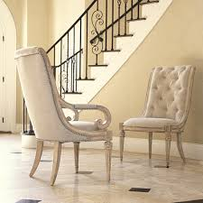 dining table parson chairs interior: elegant beige parsons chairs by jessica mcclintock furniture