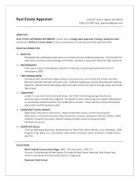 real estate broker sample resume cipanewsletter real estate appraiser resumes samples estate volumetrics co