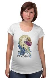 <b>Футболка</b> для беременных <b>Mother</b> of dragons #2110315 ...