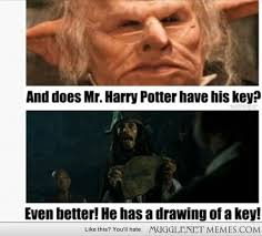 ye got a key drawing - MuggleNet Memes via Relatably.com