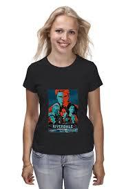Футболка <b>классическая Printio Riverdale</b> (Ривердейл) #2032844