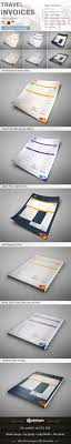 travel invoice by dotnpix graphicriver travel invoice proposals invoices stationery