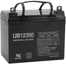 Universal Power Group 12V 35AH Battery for 3 Wheel ... - Amazon.com