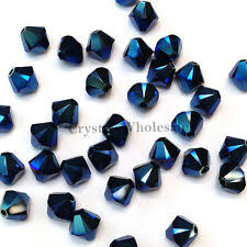 <b>Двойной</b> конус металлический ювелирная <b>Swarovski Crystal</b> ...