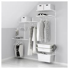 algot wall uprightshelvesbox white width 74 38 algot white wall mounted storage solution