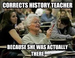 Elderly College Student memes | quickmeme via Relatably.com