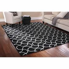 black rugs walmart com only at mainstays rug in a bag drizzle area blackwhite cheap home black shag rug home office