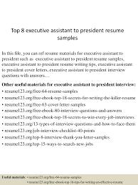 topexecutiveassistanttopresidentresumesamples lva app thumbnail jpg cb