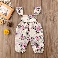 2019 <b>Pudcoco Newborn Infant Baby</b> Girls Clothes Summer Strap ...