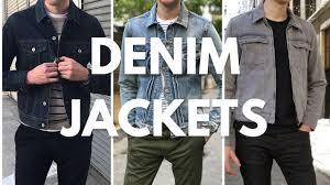 <b>Men's</b> Denim/<b>Jean Jacket</b> Lookbook - How To <b>Wear</b> & <b>Style</b> - YouTube