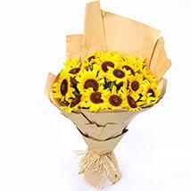 <b>Sunflowers</b>   <b>Sunflower Bouquets</b> and Arrangements - Ferns N Petals