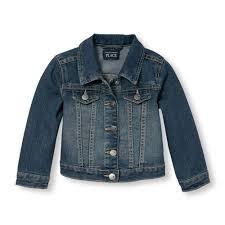 Toddler <b>Girls Denim Jacket</b> - The <b>Children's</b> Place