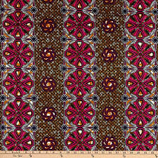 Sonna USA Supreme African Wax Print 6 Yard Red - Amazon.com