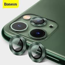 Baseus Back <b>Camera Lens Screen Protector</b> For iPhone 11 Pro Max ...
