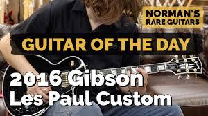 <b>Guitar</b> of the <b>Day</b>: 2016 <b>Gibson</b> Les Paul Custom | Norman's Rare ...
