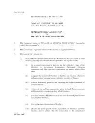 articles of association template com and the memorandum of association of association template social firm bivdtmm2