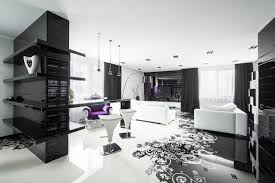 black and white graphic decor black white interior design