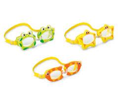 <b>Очки</b> для плавания <b>FUN</b> от 3-8 лет, цвета микс