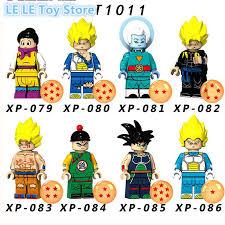 8pcs/<b>lot</b> Dragon Ball Z <b>Figures</b> Goku Son Gohan Raditz Building ...