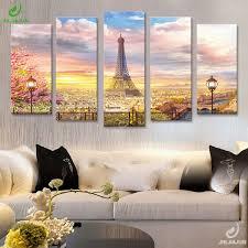5 Panel Canvas <b>Prints</b> Wall Art <b>Modular</b> Picture New York Scenery ...