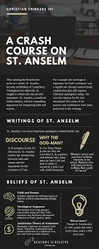 best images about critical reasoning typography reasons to believe christian thinkers 101 a crash course on st anselm