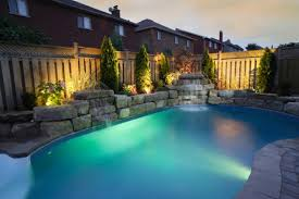 backyard pool decorated with beautiful lights beautiful lighting pool