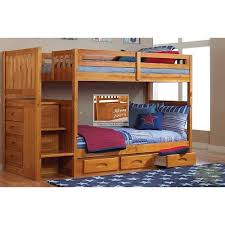 discovery world furniture honey twin staircase bunk bed ashley unique furniture bunk beds