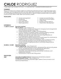 best executive assistant resume example   livecareerexecutive assistant resume example